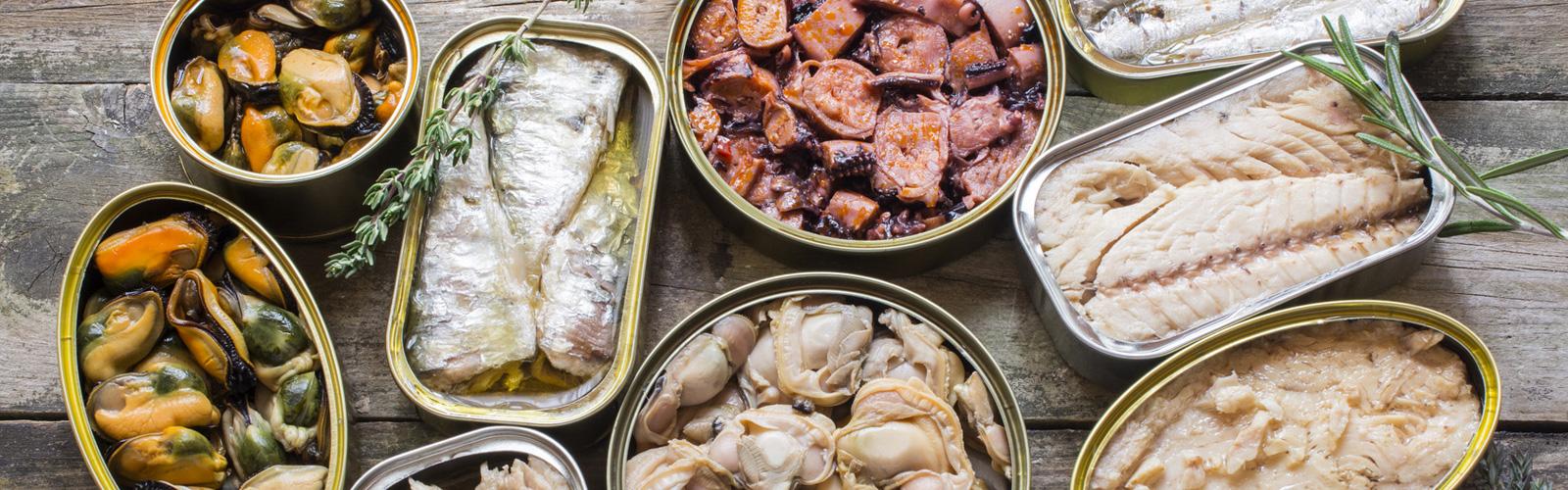 Salazones y conservas - Pescados y Mariscos Angelito