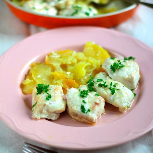 Mero al horno - Pescados y Mariscos Angelito