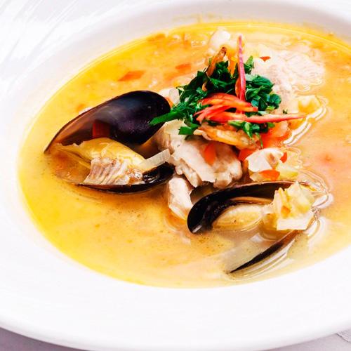 Sopa marinera - Pescados y Mariscos Angelito