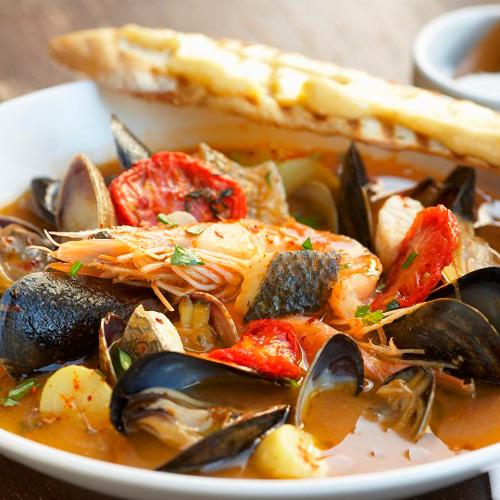 Sopa de pescado y marisco - Pescados y Mariscos Angelito